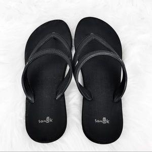 Sanuk Flip Flops Vacation Getaway Size 8-9